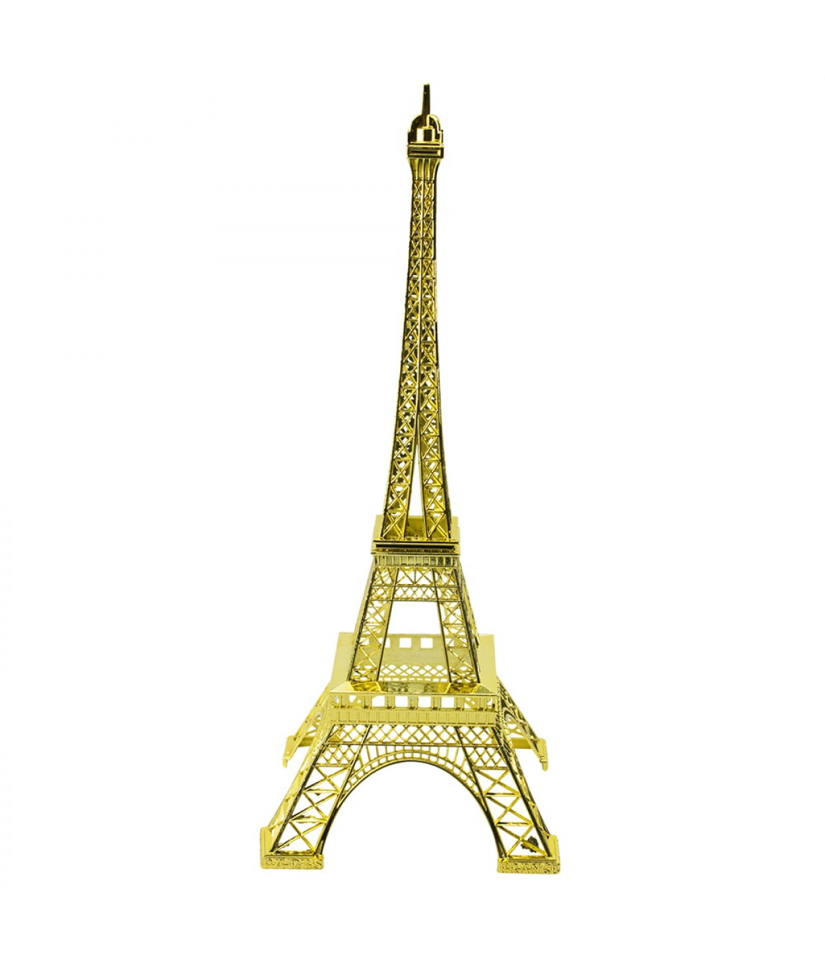 Torre Eiffel Dourado Claro 32cm
