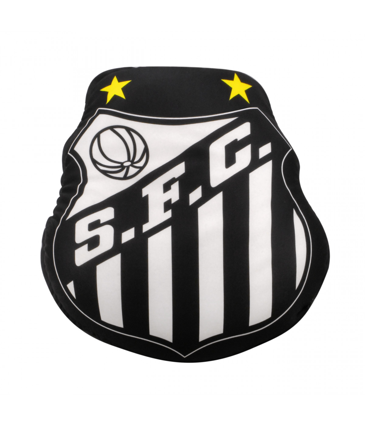 7df4d300ef ALMOFADA EM FORMA DE BRASÃO (ISOPOR) - SANTOS ...
