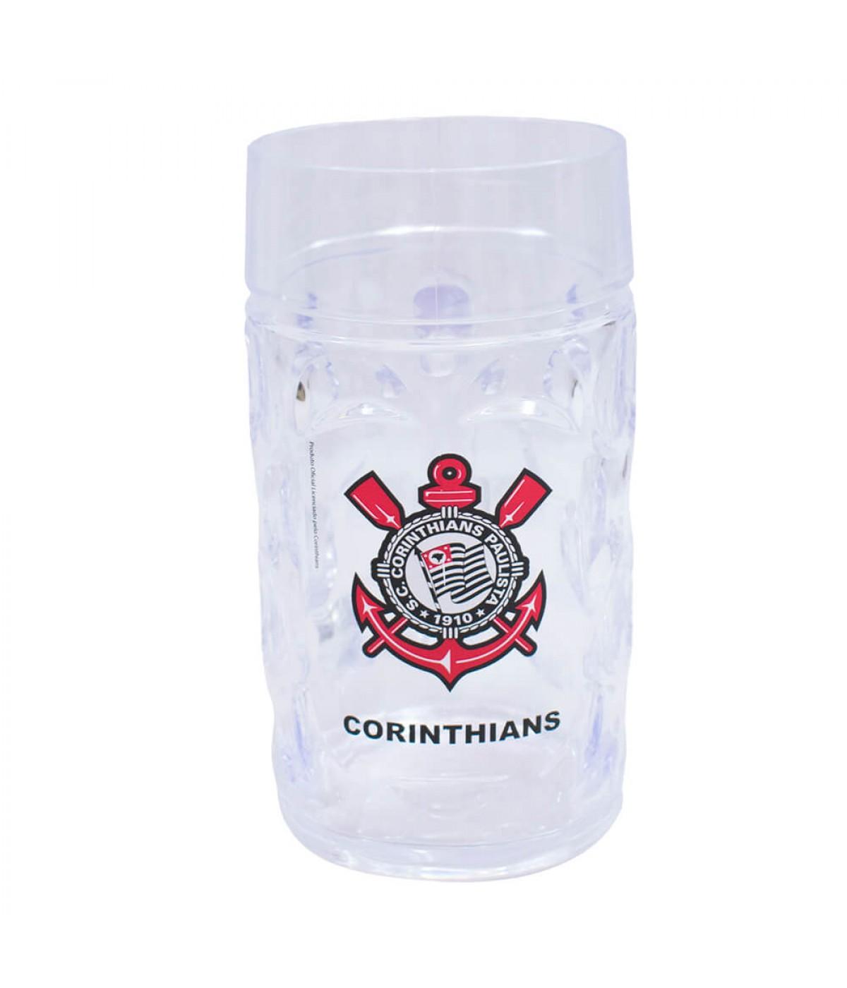 Caneca Plástico Gigante 900ml - Corinthians ... c55859fc28fea