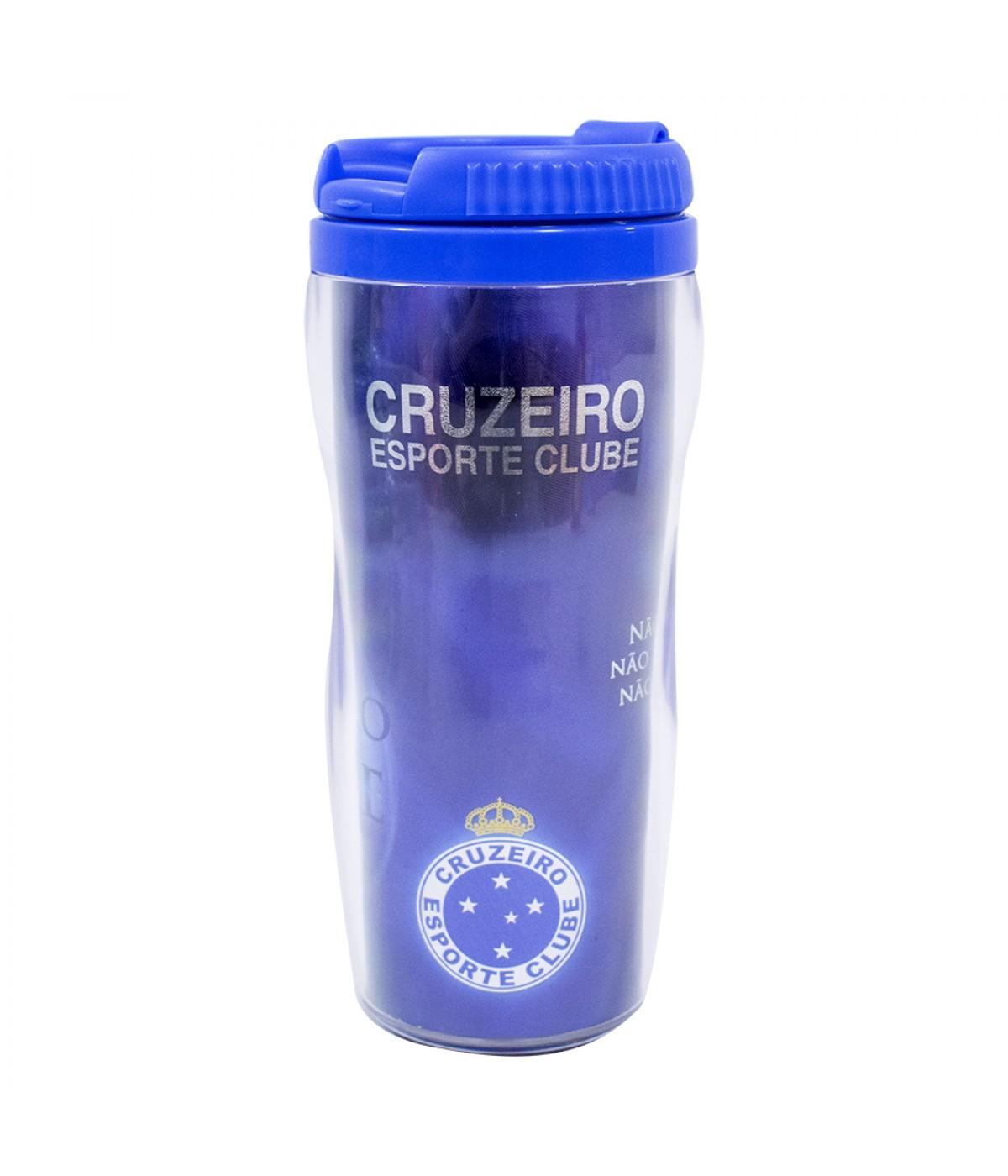 COPO COM TAMPA 350ML - CRUZEIRO  924ce422512cb