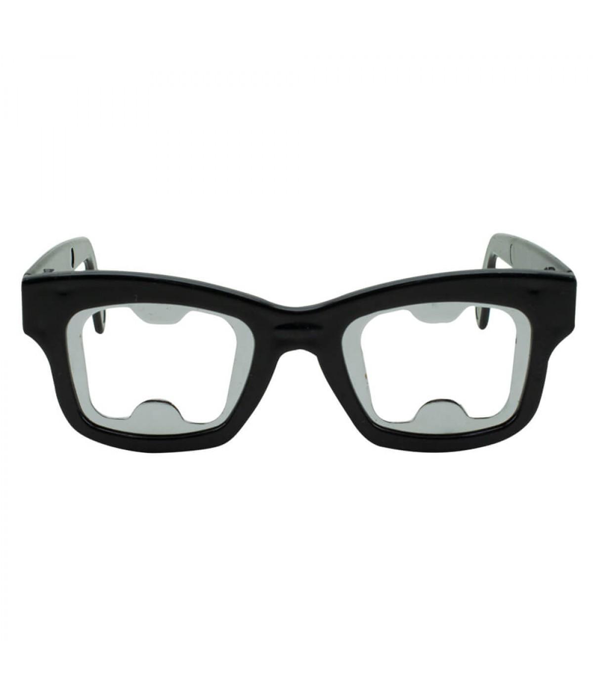 Óculos Preto Abridor Garrafas 4.5x15x14cm