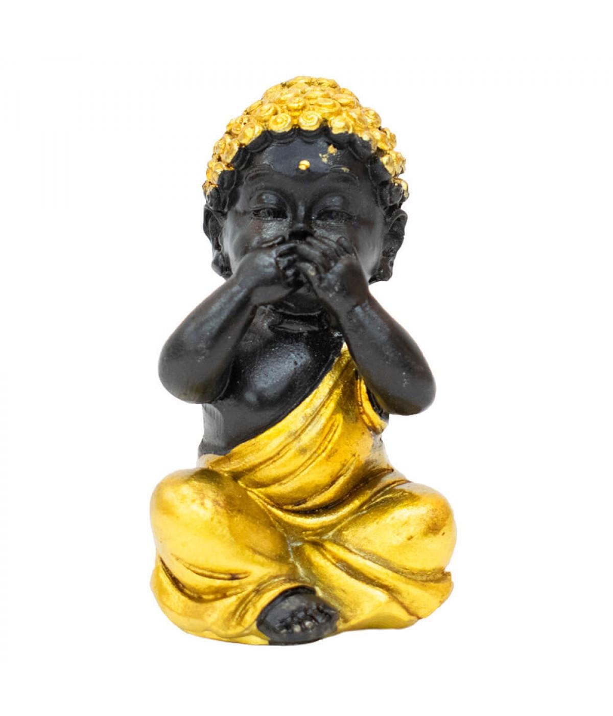 Buda Dourado Não Falo 7.5cm