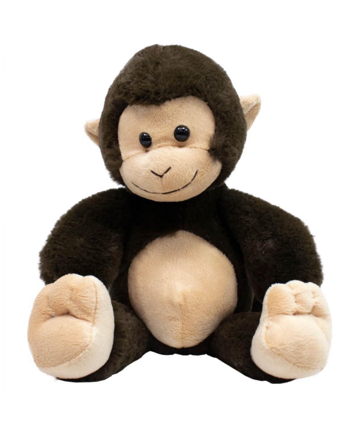 Macaco Marrom Cauda Longa 25cm - Pelúcia
