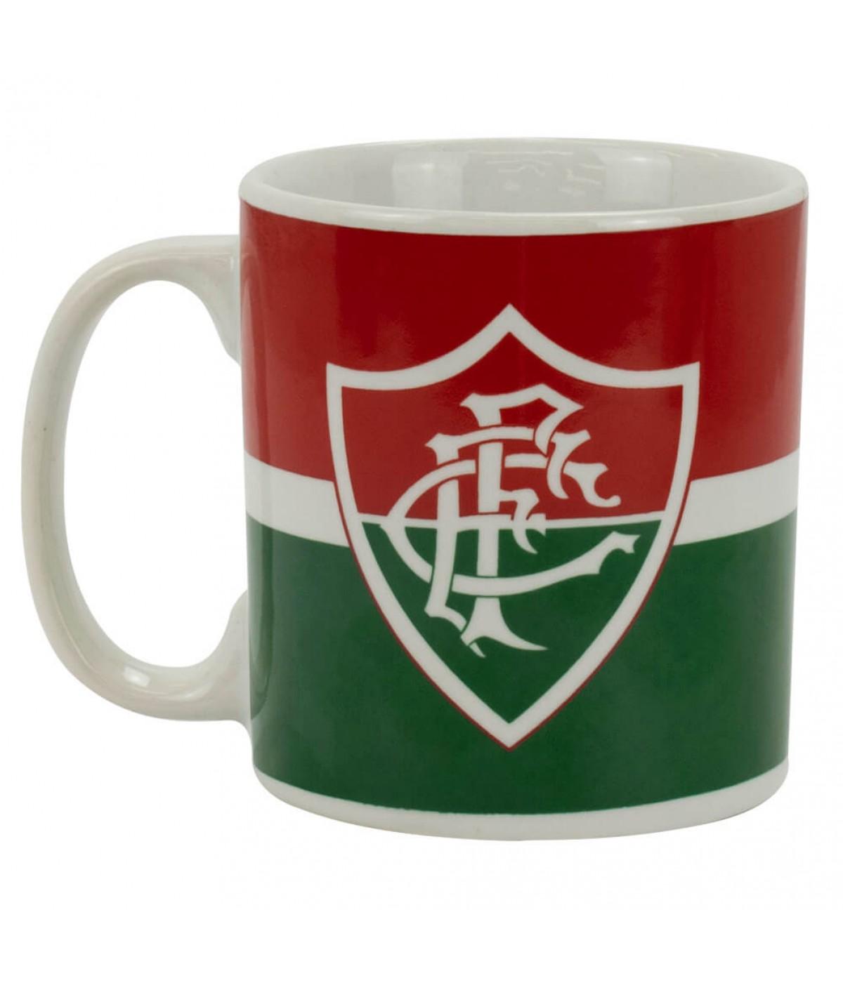 Caneca Porcelana 300ml - Fluminense