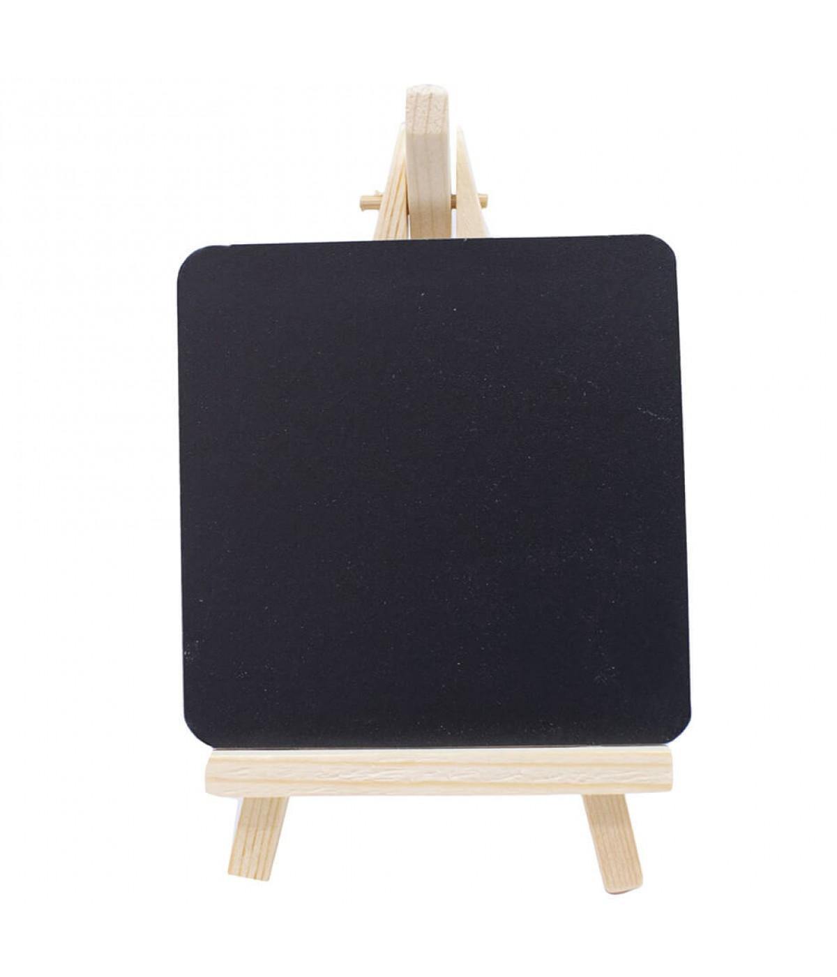 Mini Quadro Preto De Escrever Pintor 17x10cm