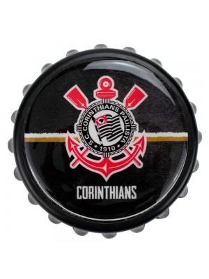 Abridor De Garrafas Tampa 8x8cm - Corinthians