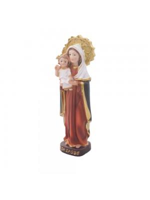 12A4191-3-E | Nossa Senhora Da Saúde 9cm - Enfeite Resina