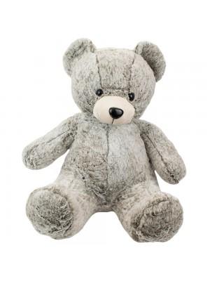 Urso Cinza Sentado 60cm - Pelúcia