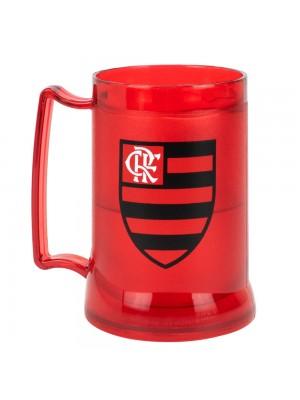 99068 | Caneca Gel Isolante Térmico 400ml - Flamengo