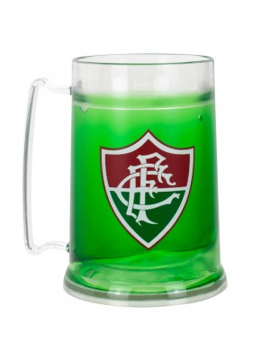 99075 | Caneca Gel Isolante Térmico 300ml - Fluminense