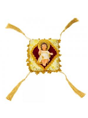 Menino Jesus Na Almofada 9.5cm - Enfeite Resina