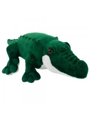 Crocodilo Verde 55cm - Pelúcia