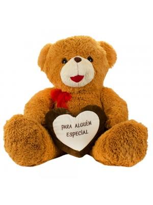 Urso Marrom Para Alguém Especial 70cm - Pelúcia