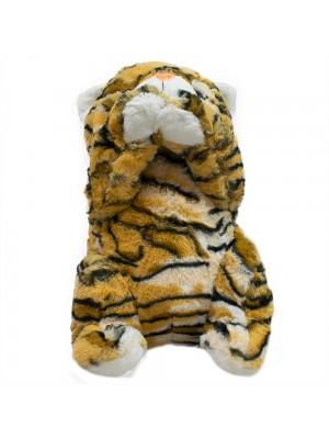 Gato Pelagem Tigre Patas Levantadas 37cm - Pelúcia