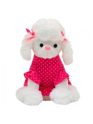 Cachorro Poodle Vestido 35.5cm - Pelúcia