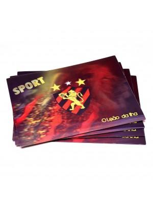 JOGO AMERICANO 3D 4 PEÇAS - SPORT CLUB