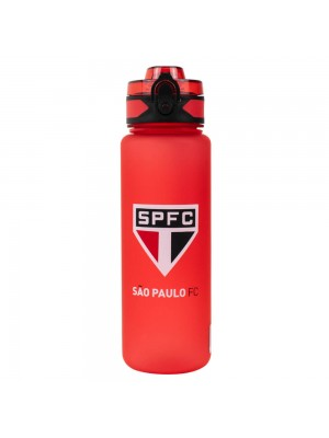 Garrafa De Plástico 600ml - SPFC