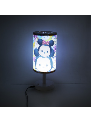 DLP004-TT2-D   Luminária Abajur Mickey & Minnie Tsum Tsum - Disney