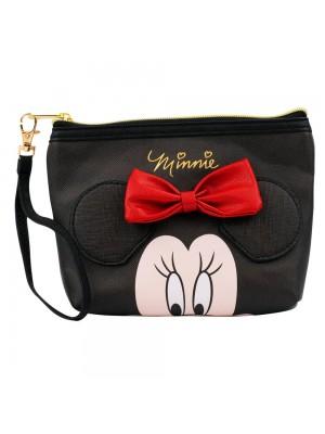 Necessaire Assinatura Rosto Minnie 14x5x21cm - Disney
