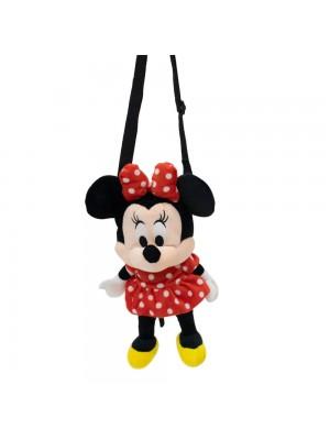 Bolsa Pelúcia Minnie 23cm - Disney
