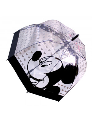 DYF23-MK1-D | Guarda Chuva Transparente Mickey - Disney