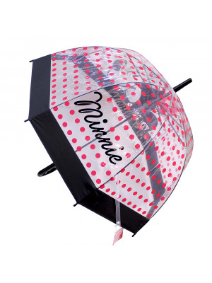 DYF23-MK2-D | Guarda Chuva Transparente Minnie - Disney