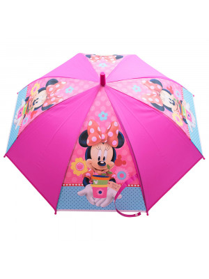Guarda Chuva Infantil Pink Minnie Vaso - Disney