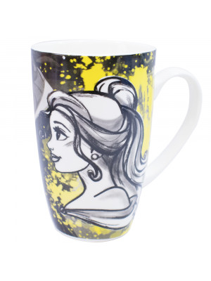 DZPX230-PS3-D | Caneca Porcelana Bela Princesas 400ml - Disney