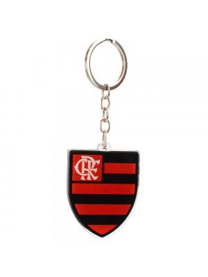 Chaveiro Escudo Time Acrílico 5cm - Flamengo