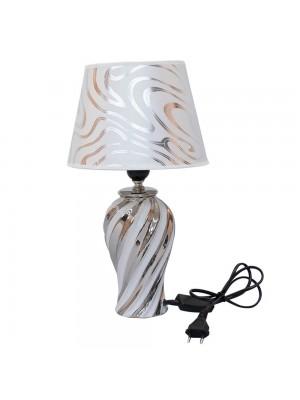 Abajur Luminária Porcelana Branca 38.5cm 127V