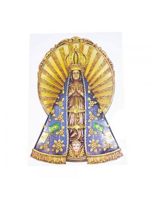 Adesivo Decorativo Nossa Senhora Aparecida 40x23.5cm