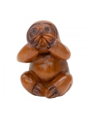 Bicho Preguiça Não Falo 5.5cm - Resina Animais