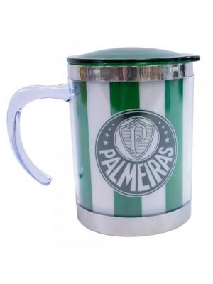 Caneca Térmica Com Tampa 450ml - Palmeiras