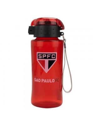Garrafa Plástico 450ml - SPFC