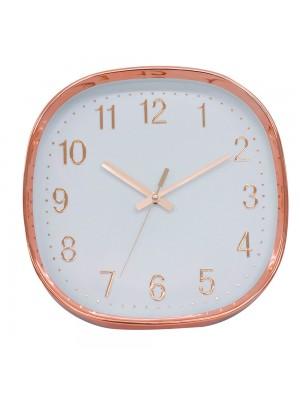 Relógio Parede Rosê 29.5x29.5cm