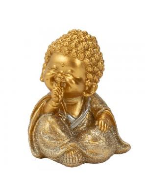 Buda Dourado Não Falo 9cm
