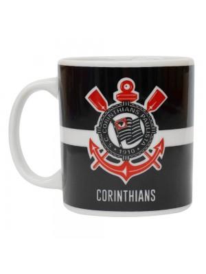 Caneca Porcelana 320ml - Corinthians