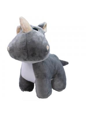 Rinoceronte Focinho Comprido 28cm - Pelúcia