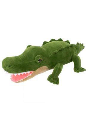 Crocodilo Verde 38cm - Pelúcia