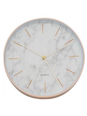 Relógio Parede Fundo Branco 30x30cm